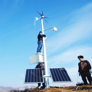 Commercial Wind Turbine 400W Commercial Wind Turbine CCTV System (MINI 300W) pictures & photos