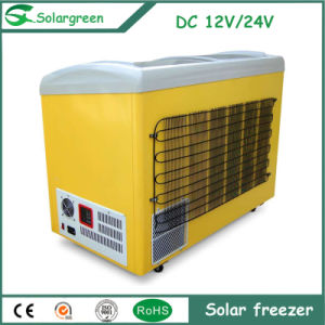 Simple Appearance 68W Power for Restaurant Solar Chest Freezer pictures & photos