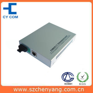 Optical Fiber Media Converter (10/100/1000Base-Tx to 1000Base-LX 1550nm Single mode 60Km)