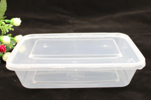Disposable Microwave Food Container PP Plastic Box pictures & photos
