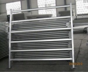 Heavy Duty Oval Rail Used Livestock Panel pictures & photos