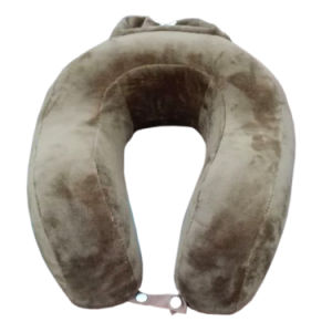 Foldable U Shape Memory Foam Car Travel Neck Pillow pictures & photos