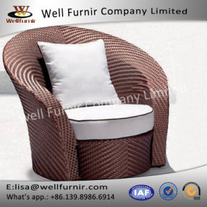 Well Furnir Single Sofa with Cushions pictures & photos