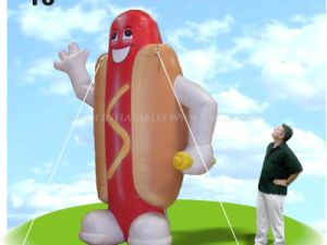 Inflatable Hot Dog Balloons, Inflatable Mascot (K3011) pictures & photos