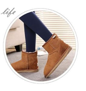 Fashion Snow Sheepskin Ankle Boots for Ladies pictures & photos