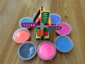 Colorful Snow Modeling Foam Clay pictures & photos