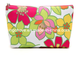 Fashion Nylon Cosmetic Bag with Flower Printing (KCC58) pictures & photos
