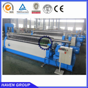 three roller mechanical type metal sheet bending and rolling machine W11-8X2000 pictures & photos
