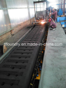 Machine Heavy Duty Ductile Cast Iron Triangular Manhole Covers pictures & photos