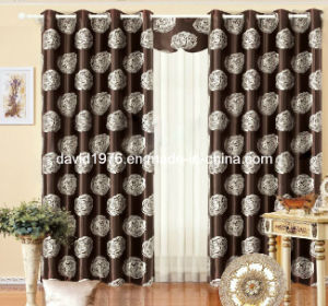 Hot Sale Printed Blackout Grommet Panel/Curtain (SZSMEBP035)
