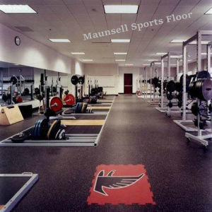 2017 Hot Sale Indoor Rubber and PVC Gym Flooring pictures & photos