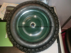 350-7 Air Wheel Barrow Rubber Wheel pictures & photos