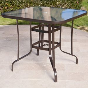 Well Furnir Square Coral Bar Height Patio Dining Set pictures & photos