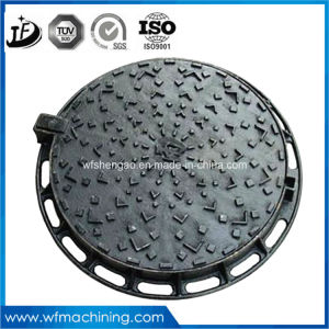 OEM Double Hinged Sealed Round Drain/Sewer Manhole Cover (En124 A15 B125 C250 D400) pictures & photos