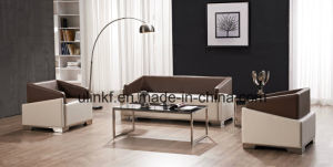 Elegant Office or Lobby or Lounge Area Leather Sofa (NS-S403) pictures & photos
