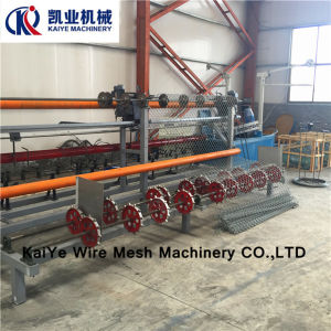 Chain Link Fence Machine /Diamond Mesh Machine pictures & photos