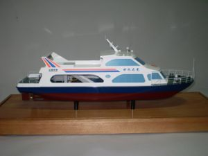 Scale Model Making, Miniature Boat Model (JW-283) pictures & photos