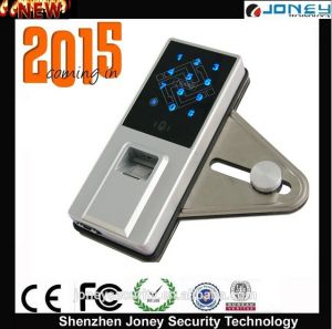 Security Biometric Fingerprint Glass Door Lock System (Jyf-L8800H) pictures & photos
