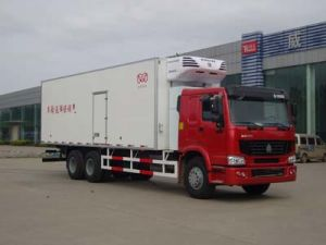 4-5tons Sinotruk Refrigerated Truck Cooling Van Truck pictures & photos