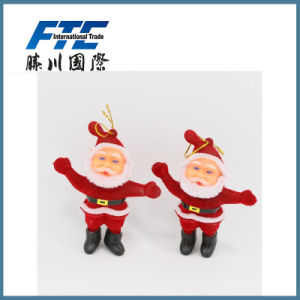 Promotion Gift Christmas Party Santa Claus Ornaments for Tree Decoration pictures & photos