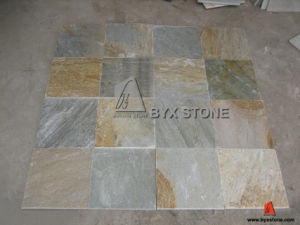 Beige Grey Slate Tile for Roofing and Flooring pictures & photos