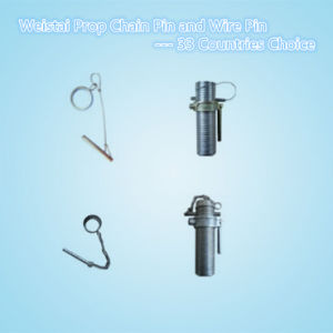 Steel Galvanized Steel Prop Pins/Wedge Pin/Wire Pin/Chain Pin/ G Pin (WST187-WST188)