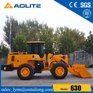 Aolite Brand Chinese Factory 3ton Four Wheel Loader 630 with Cummins Engine pictures & photos