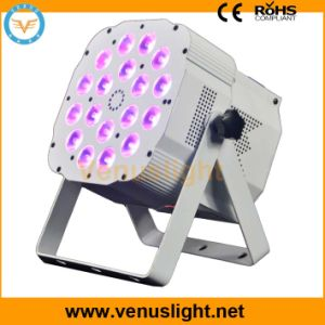 4in1 RGBW LED Flat PAR Light for Stage Lighting