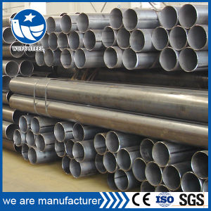 Factory Price Carbon Black Welded Inventory Steel Pipe pictures & photos