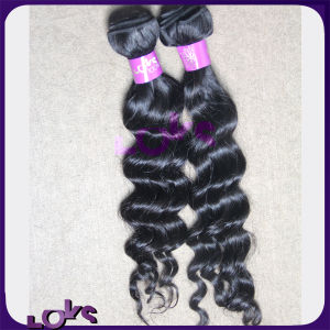 High Quality 100% Virgin Peruvian Loose Wave Hair Weft