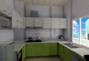Wooden Kitchen (WJ-K106)