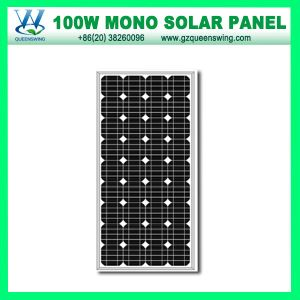 100W Monocrystalline Solar Panel (QW-M100W) pictures & photos