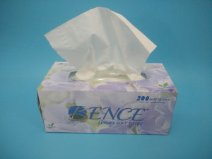Box Facial Tissue Paper Virgin Pulp 200 Sheets pictures & photos
