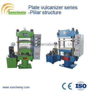 Pillar Structure Plate Vulcanizer Press pictures & photos