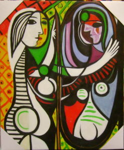 Picasso Oil Painting for Home Decoration pictures & photos