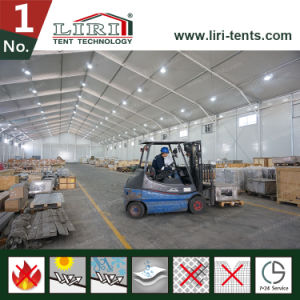 Large Temporary Warehouse Structures Tent with Rolling Door for Storage and Work Shop pictures & photos