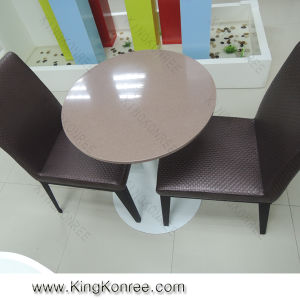 China Manufacturer Wholesale Aritificial Stone Dining Table China Dining Ta
