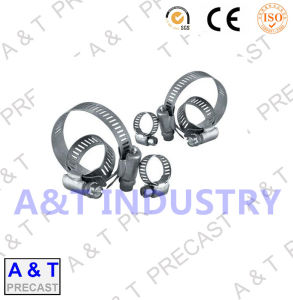 American Type Carbon Stainless Steel Hose Pipe Clip / Hose Clamp pictures & photos