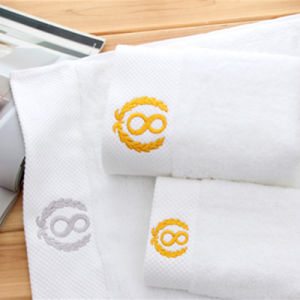 100% Cotton White Terry Hotel Bath Towels Manufacturer Tow-001 pictures & photos