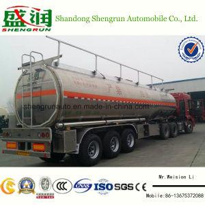 48cbm Hi-Q Aluminum Fule Tank Semi Trailer Shengrun Auto Liangshan
