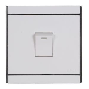 Ce/TUV Certified EU Standard Toughened Glass Wall Switch