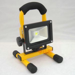 10W Portable Rechargeable LED Flood Light