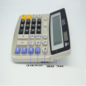 1080P 720p Video Photograph Hidden Calculator Camera with Remote
