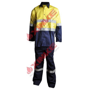 High Visibility Anti-UV Garment with Reflective Tape