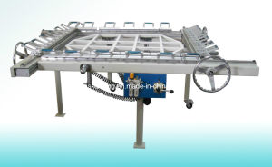 Stainless Steel Vibrating Screen Stretching Machine (SWECO round screen stretcher) pictures & photos