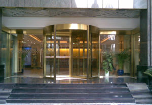 Automatic Revolving Door Low Price pictures & photos