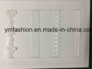 White Color Garment Accessories Polyester Lace pictures & photos
