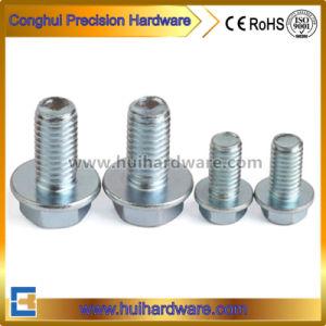 Steel Hex Flange Head Bolt M4-M20 (DIN6921) pictures & photos