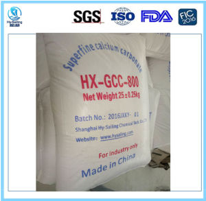 High White Heavy/Ground Calcium Carbonate Gc800 pictures & photos