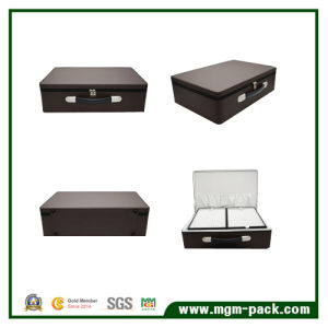 Now High-Capacity Leather Storage Jewelry Box pictures & photos